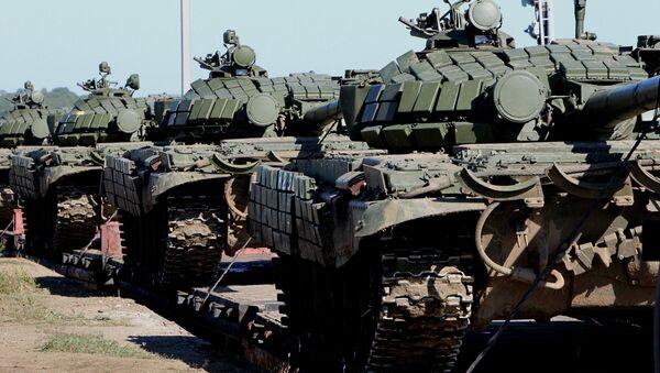 Проверка боевой готовности войск Восточного военного округа. Архивное фото