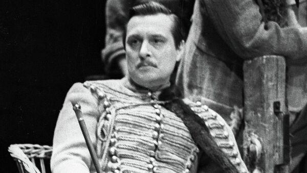 Олег Басилашвили в роли князя Серпуховского