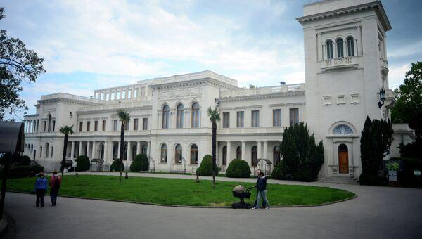 Ливадийский дворец в Крыму. Архивное фото