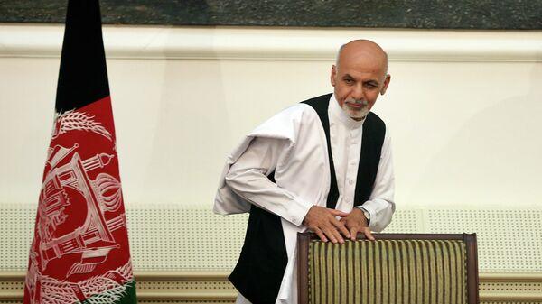 Новый президент Афганистана Ашраф Гани Ахмадзай. Архивное фото
