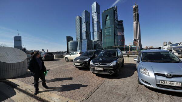 Деловой центр Москва-сити. Архивное фото