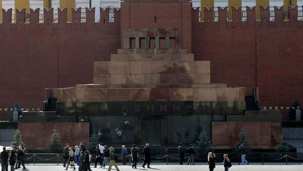 Мавзолей Ленина. Архивное фото