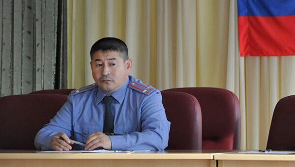 Полковник Серик Султангабиев, архивное фото