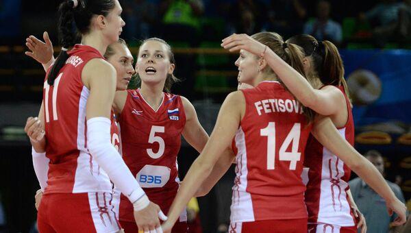 Волейбол. Женщины. Россия. Архивное фото
