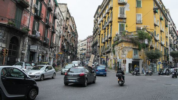 На одной из улиц Неаполя