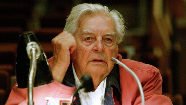 Художественный руководитель Московского Театра на Таганке Юрий Любимов. Архивное фото