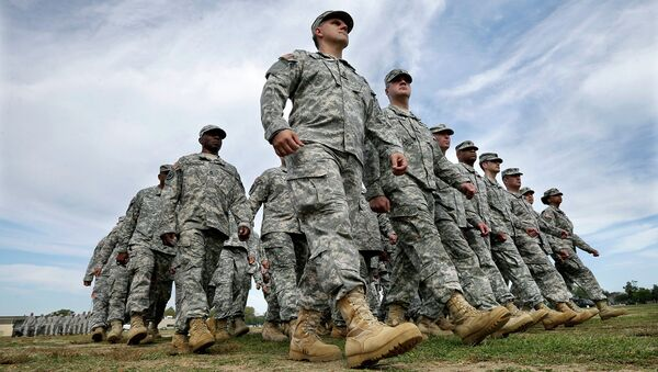Американские солдаты, архивное фото.
