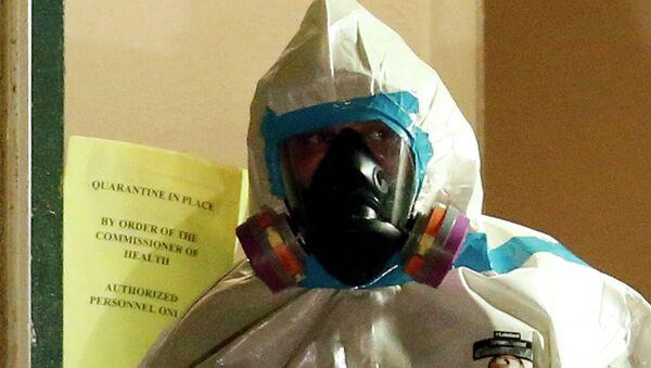 Карантин по Эболе в Далласе. Архивное фото