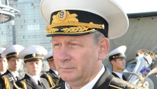 Главком ВМФ России адмирал Виктор Чирков. Архивное фото