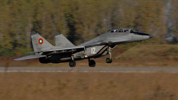 Самолет МиГ-29 ВВС Болгарии, архивное фото