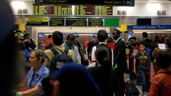 Международный аэропорт имени Джонна Кеннеди в Нью-Йорке