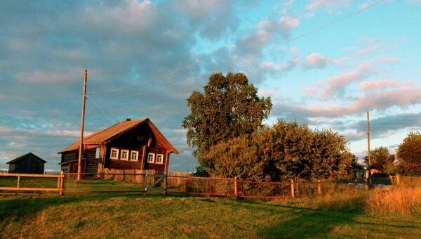 Карельская деревня Большая Сельга