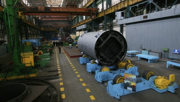 Машиностроительный завод. Архивное фото