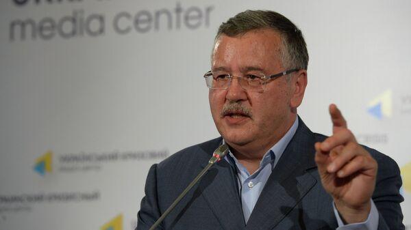 Лидер политической партии Гражданская позиция Анатолий Гриценко