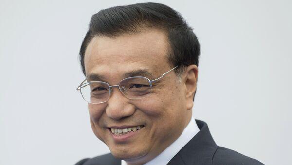 Премьер Госсовета Китайской народной республики (КНР) Ли Кэцян. Архивное фото