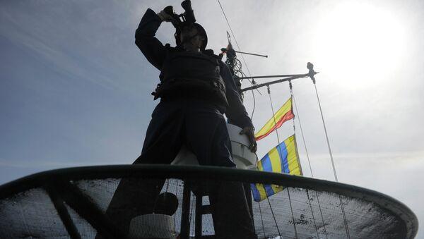 Учения батальона морской пехоты Каспийской флотилии. Архивное фото