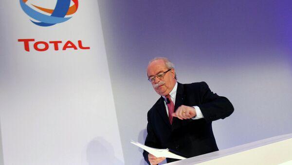 Кристоф де Маржери, генеральный директор французской нефтяной и газовой компании Total SA
