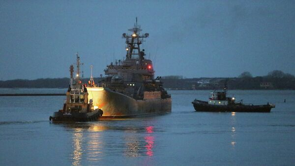 Большой десантный корабль Александр Шабалин. Архивное фото