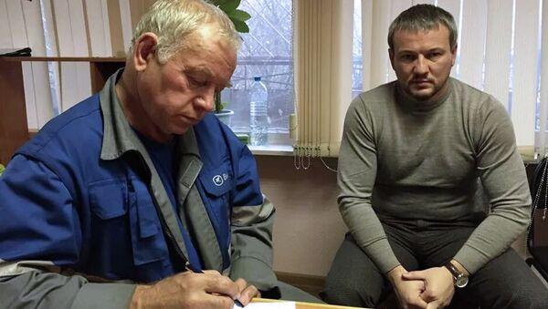 Допрос Владимира Мартыненко в Следственном комитете
