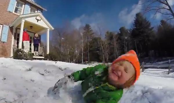 Белое счастье: как дети впервые увидели снег
