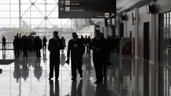 Открытие нового терминала международного аэропорта Львов. Архивное фото