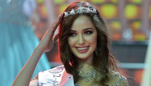 2-я Вице-мисс Анастасия Костенко. Архивное фото