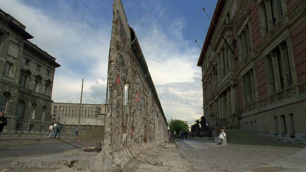 Остатки разрушенной Берлинской стены