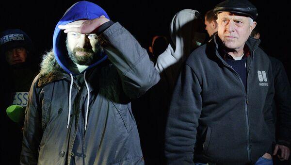 Обмен пленными в Донецке. Архивное фото