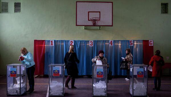 Выборы главы ЛНР и депутатов Народного Совета республики. Архивное фото