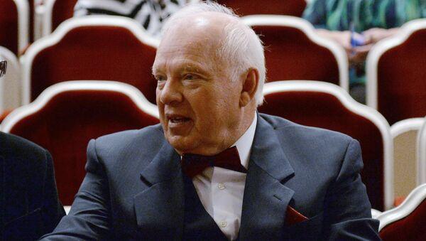 Народный артист России, артист Александр Потапов. Архивное фото