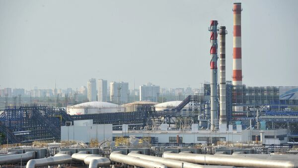 ОАО Газпромнефть - Московский НПЗ, архивное фото