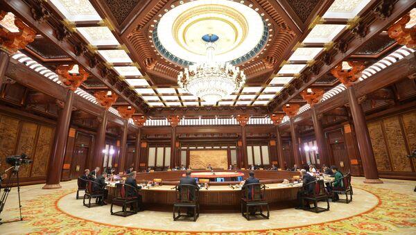 Рабочее заседание лидеров экономик форума АТЕС 11 ноября 2014 года