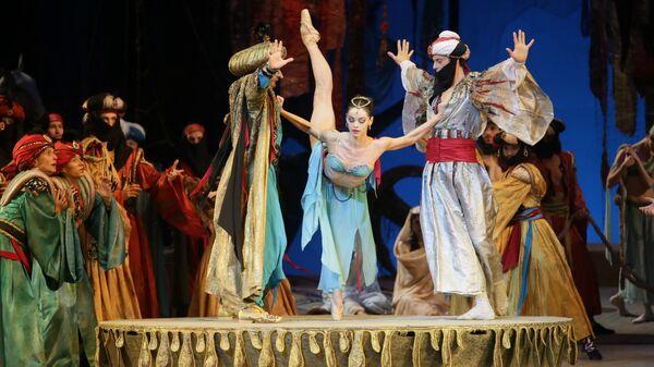 Балет Корсар на сцене Мариинского театра. Архивное фото