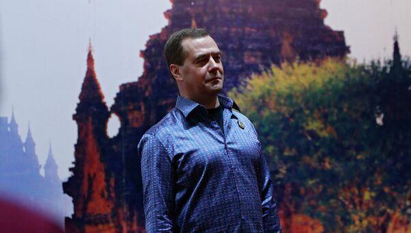 Председатель правительства России Дмитрий Медведев в Мьянме