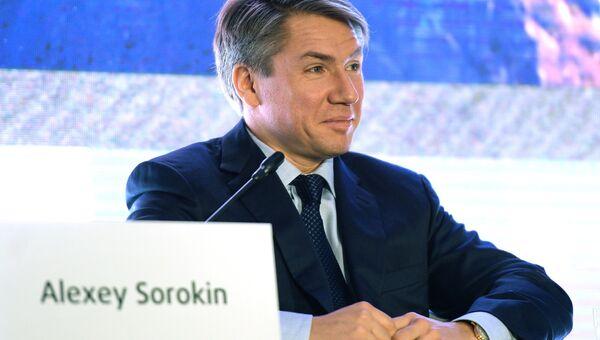 Генеральный директор Оргкомитета Россия-2018 Алексей Сорокин. Архивное фото