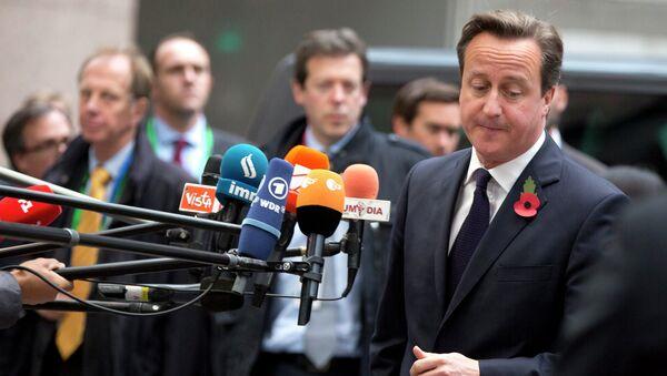 Премьер-министр Британии Дэвид Кэмерон. Архивное фото