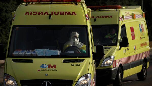 Автомобиль скорой помощи в Испании. Архивное фото