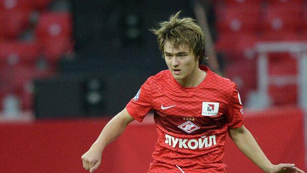 Игрок Спартака Денис Давыдов. Архивное фото
