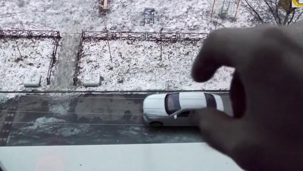 Убрал машинку, или Как наказать плохих водителей