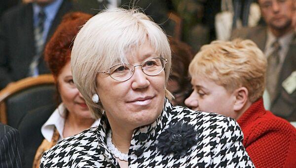 Член Общественной палаты при президенте РФ, вице-президент Медиасоюза Елена Зелинская. Архивное фото