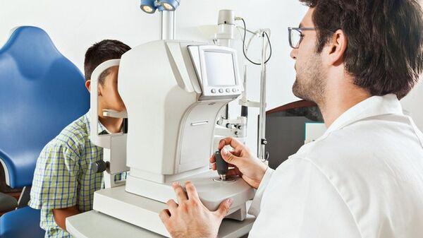 Офтальмологическая щелевая лампа компании Швабе