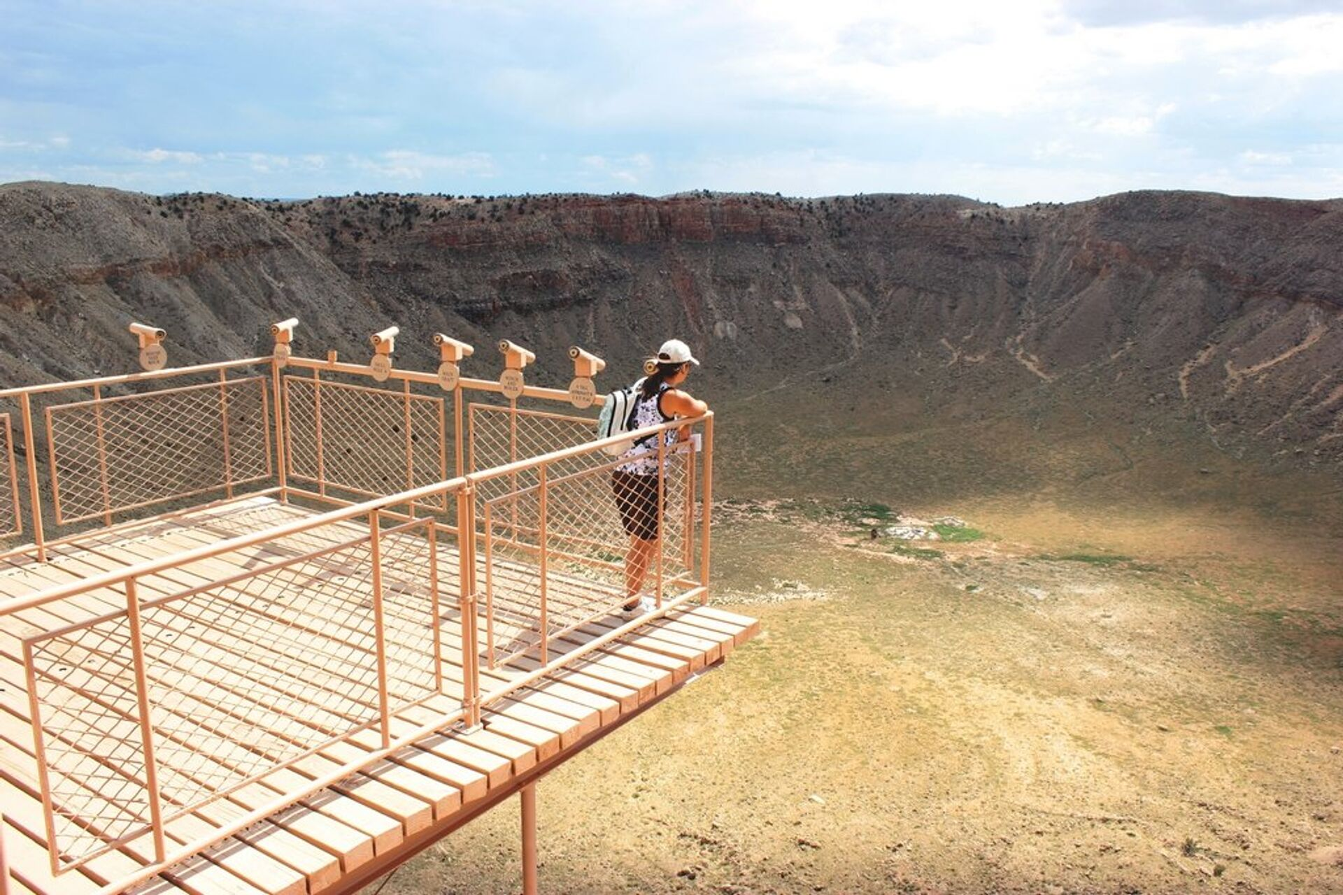 Аризонский метеоритный кратер, штат Аризона, США - РИА Новости, 1920, 08.04.2021