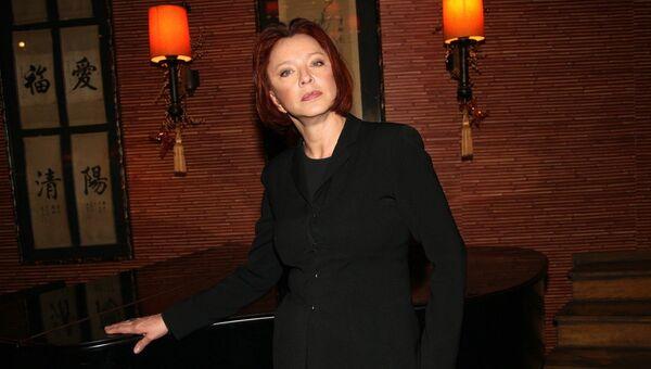 Актриса Анастасия Вертинская. Архивное фото