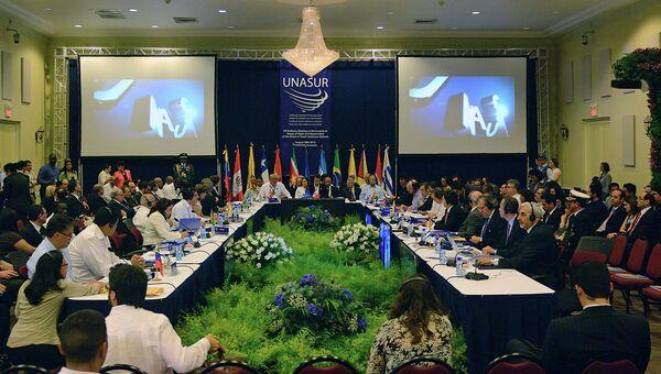 Саммит лидеров Союза южноамериканских наций. Архивное фото