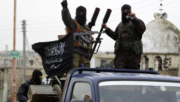 Боевики Аль-Каиды в Сирии