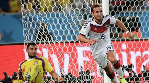 Игрок сборной Германии Марио Гетце. Архивное фото