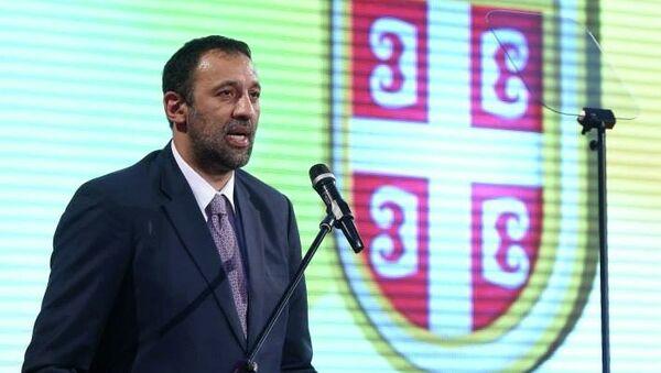 Председатель Олимпийского комитета Сербии Владе Дивац. Архивное фото