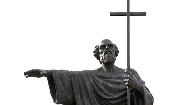 Памятник Андрею Первозванному в Херсонесе Таврическом