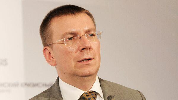 """Глава МИД Латвии захотел запретить зиме """"въезд в страну"""""""