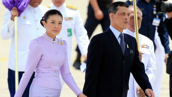 Принцесса Таиланда Срирасми  с мужем, кронцпринцем Махой Вачиралонгкорном